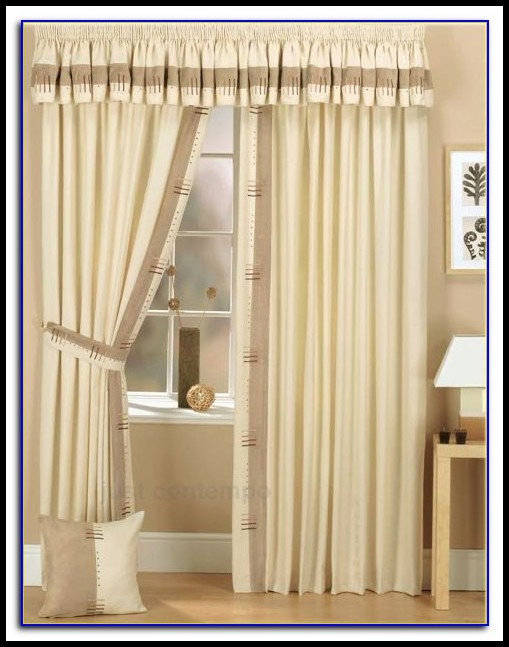 Curtains With Valance Pelmet
