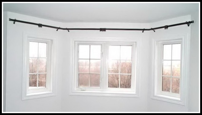 Curved Window Curtain Rods