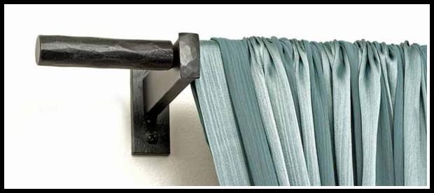 Custom Iron Curtain Rods
