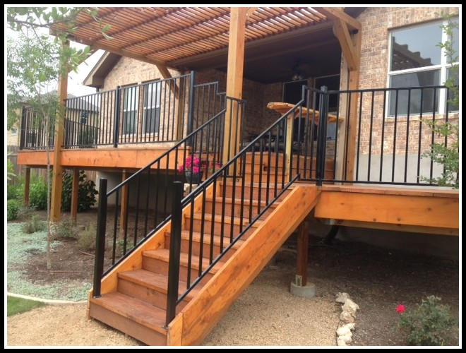 Custom Metal Deck Railings