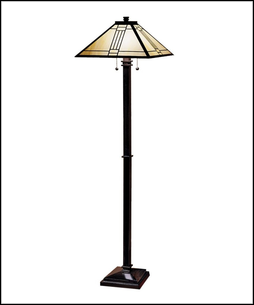 Dale Tiffany Floor Lamp Mission