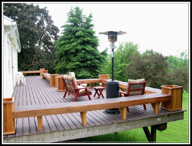 Deck Bench Plans Planter