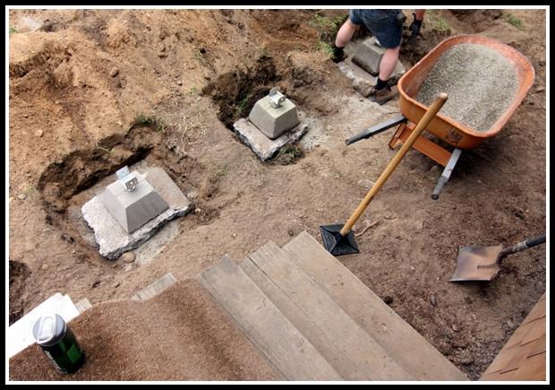Deck Blocks Vs Concrete Footings