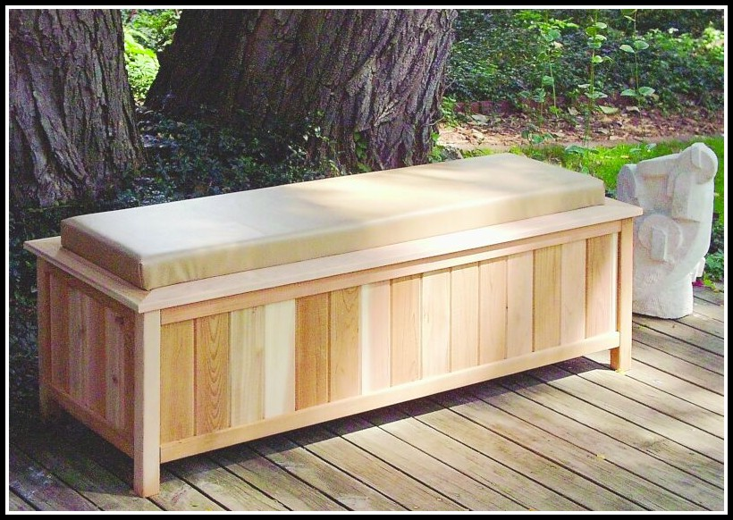 Deck Box Bench Plans