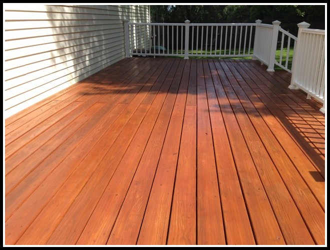 Deck Cleaning And Staining Atlanta