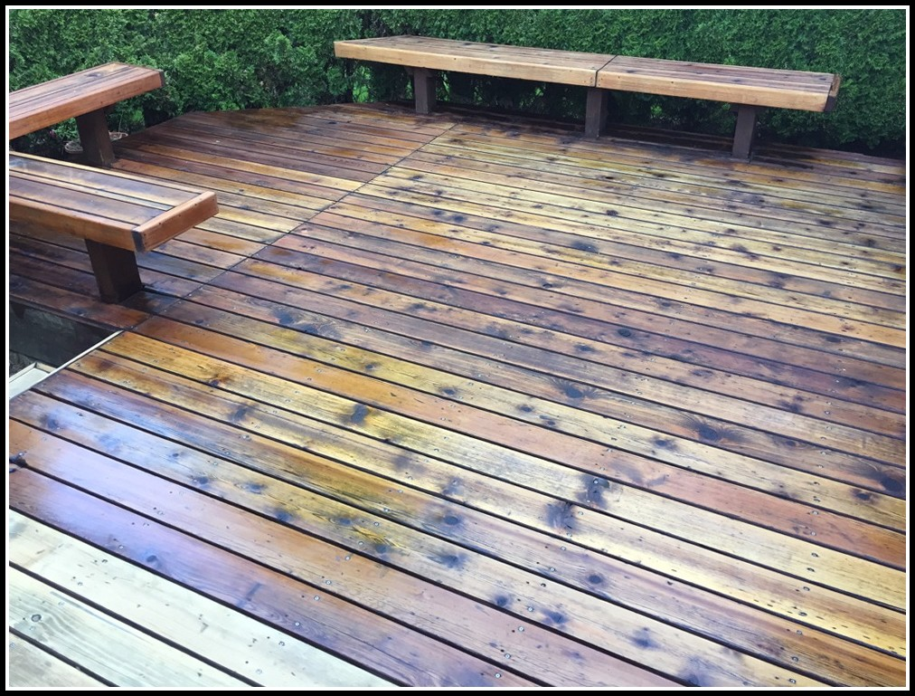 Deck Cleaning Solution Tsp