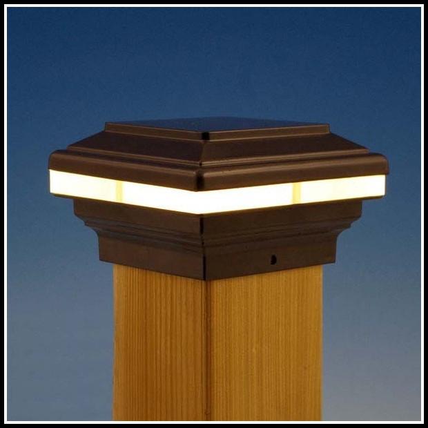 Deck Post Cap Lights