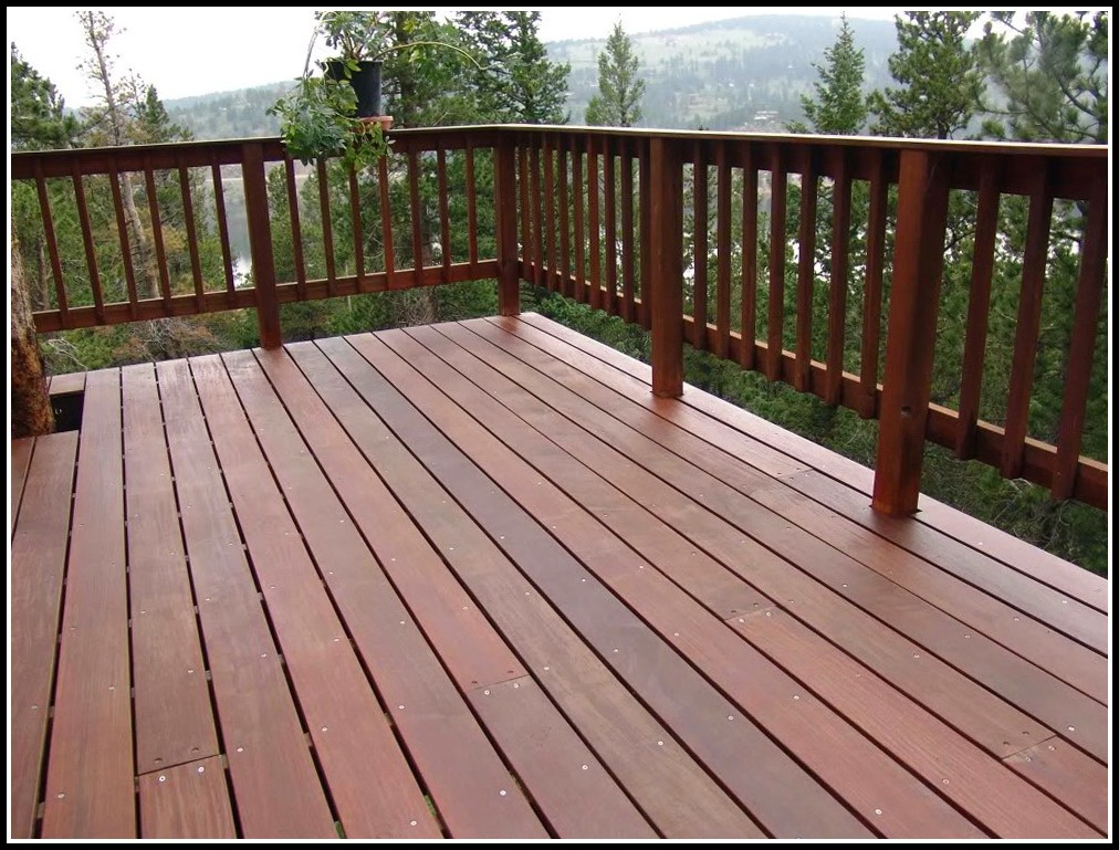 Deck Rail Ideas Wood