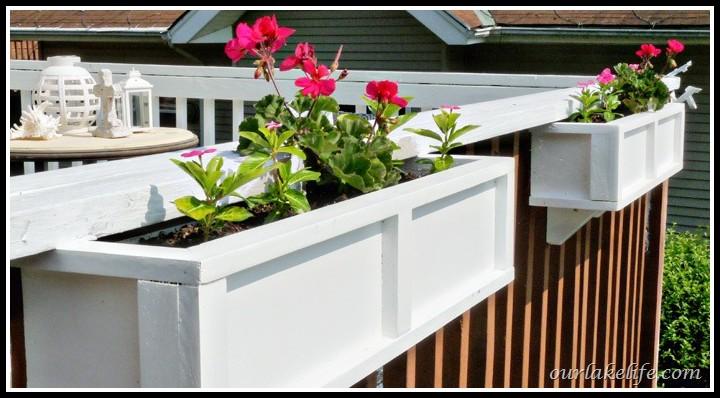 Deck Rail Planter Boxes