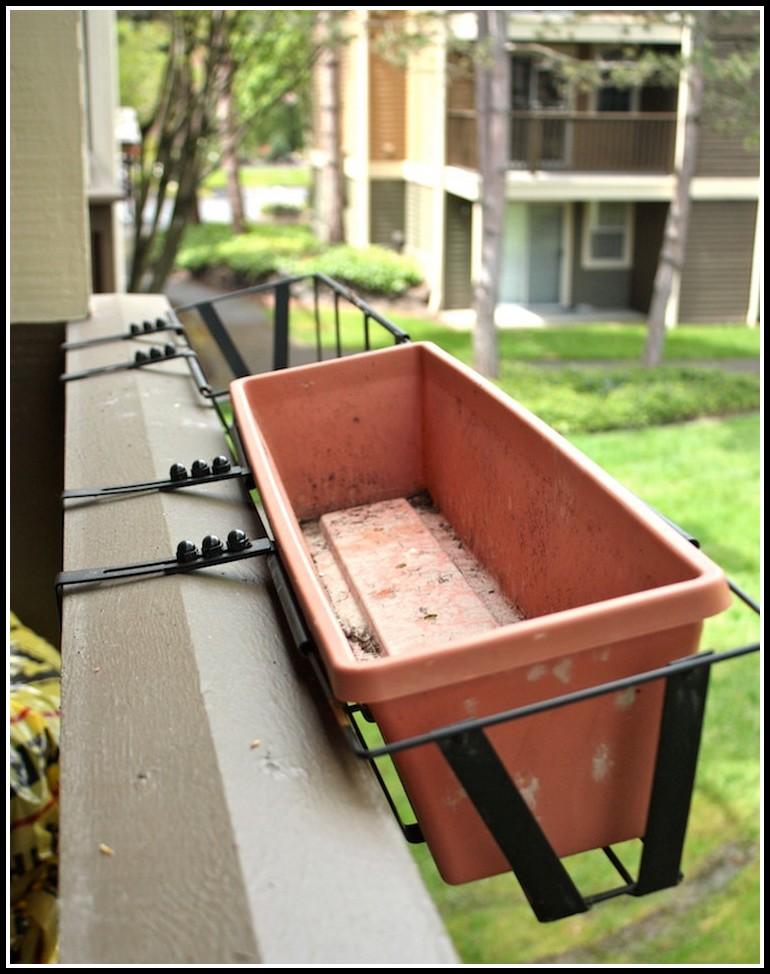 Deck Rail Planter Brackets