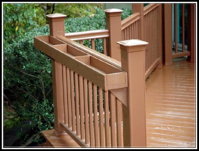 Deck Railing Planter Box Plans