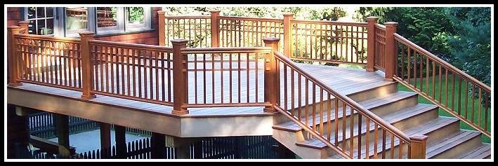 Deck Railing Posts Corner