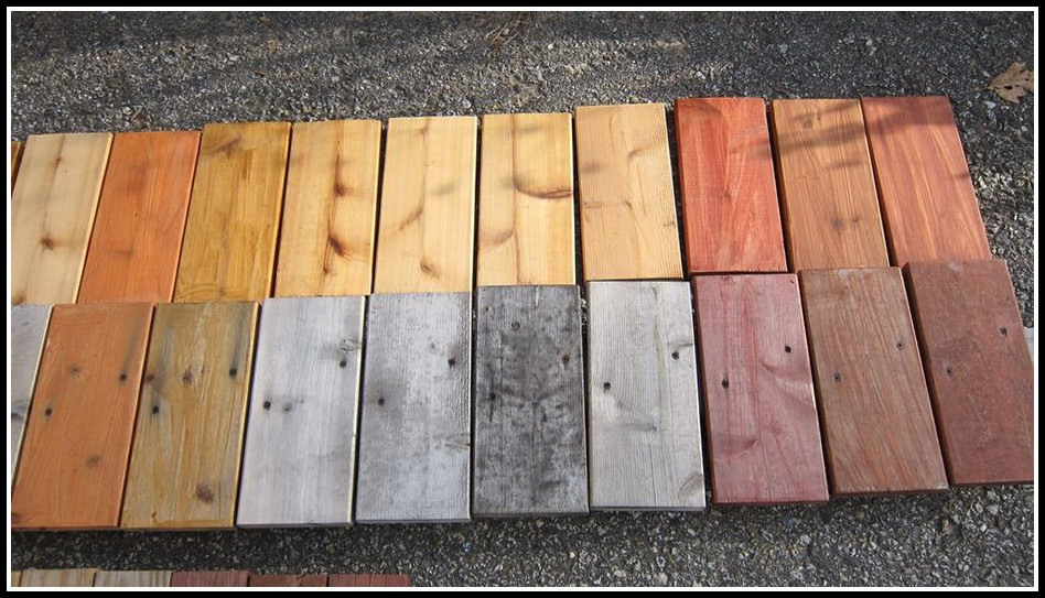 Deck Stain And Sealer