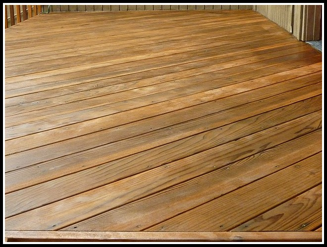 Deck Stains And Sealers
