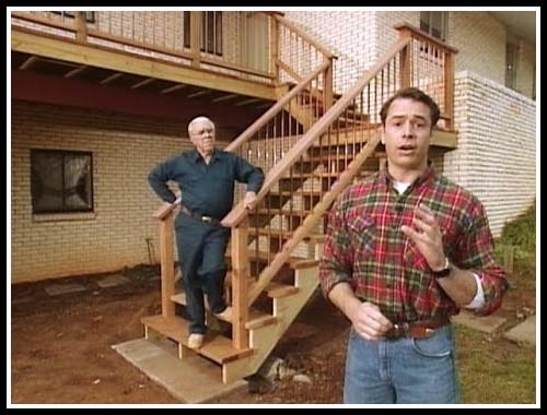 Deck Stair Railings Construction