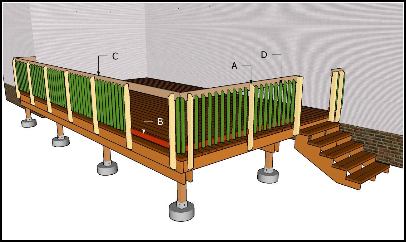 Diy Deck Railing Plans