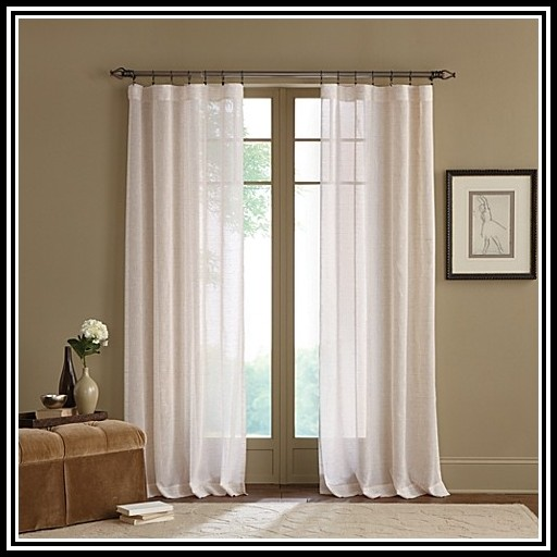 Double Curtain Rod Set Extra Long
