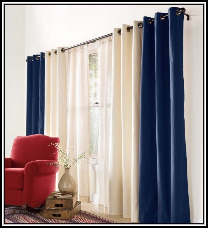 Double Rod Curtain Designs