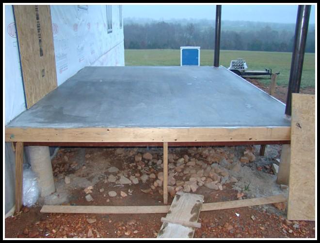 Elevated Concrete Deck Design