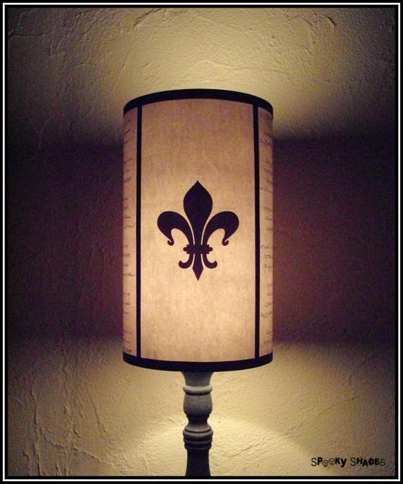 Fleur De Lis Lamp Shade
