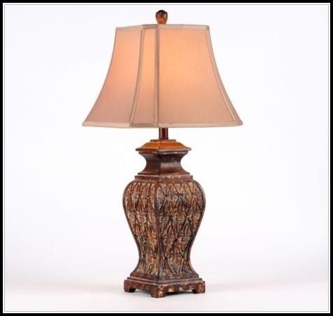 Fleur De Lis Table Lamps