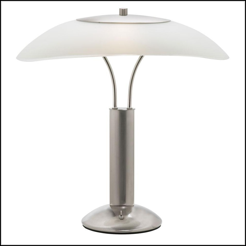 Frosted Glass Shade Table Lamps