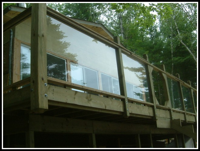 Glass Deck Railing Designs