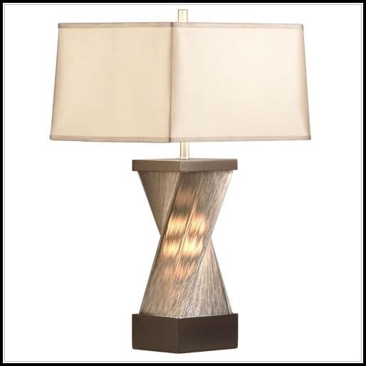 Hammered Metal Table Lamp Target