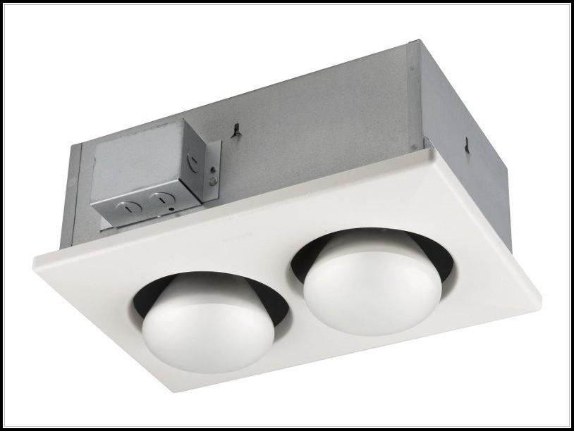 Heat Lamp Fan For Bathroom