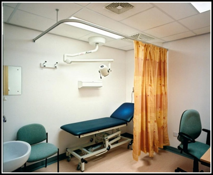 Hospital Bed Curtain Tracks
