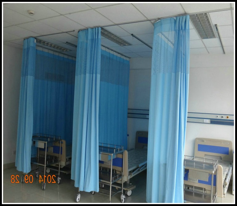 Hospital Room Divider Curtains