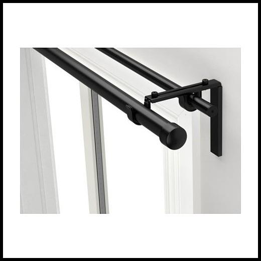Ikea Double Curtain Rods