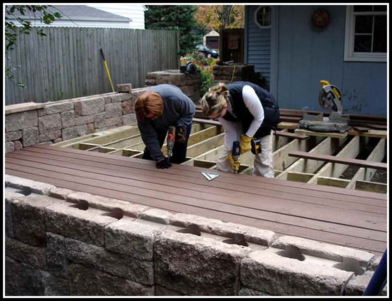 Installing Trex Decking Screws