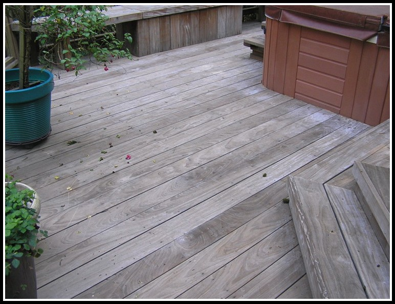 Ipe Wood Decking Care