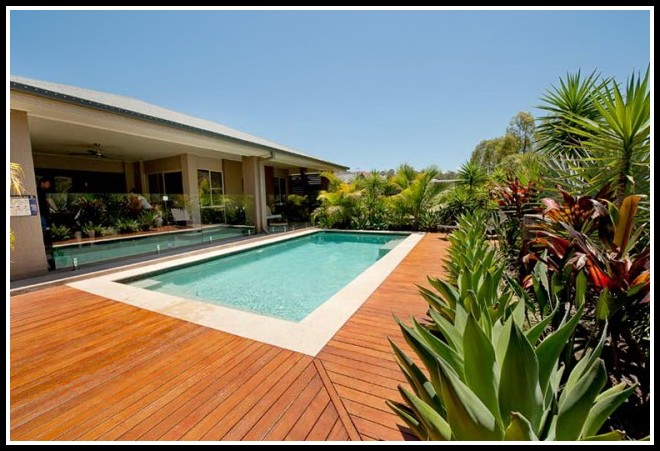 Ipe Wood Pool Deck