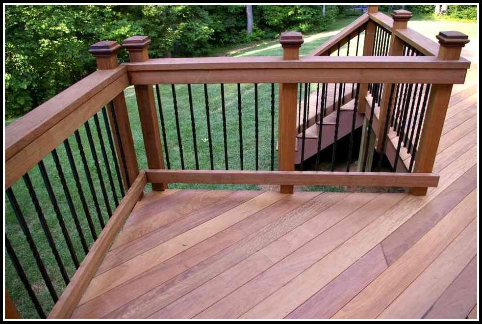 Iron Wood Decking Maintenance