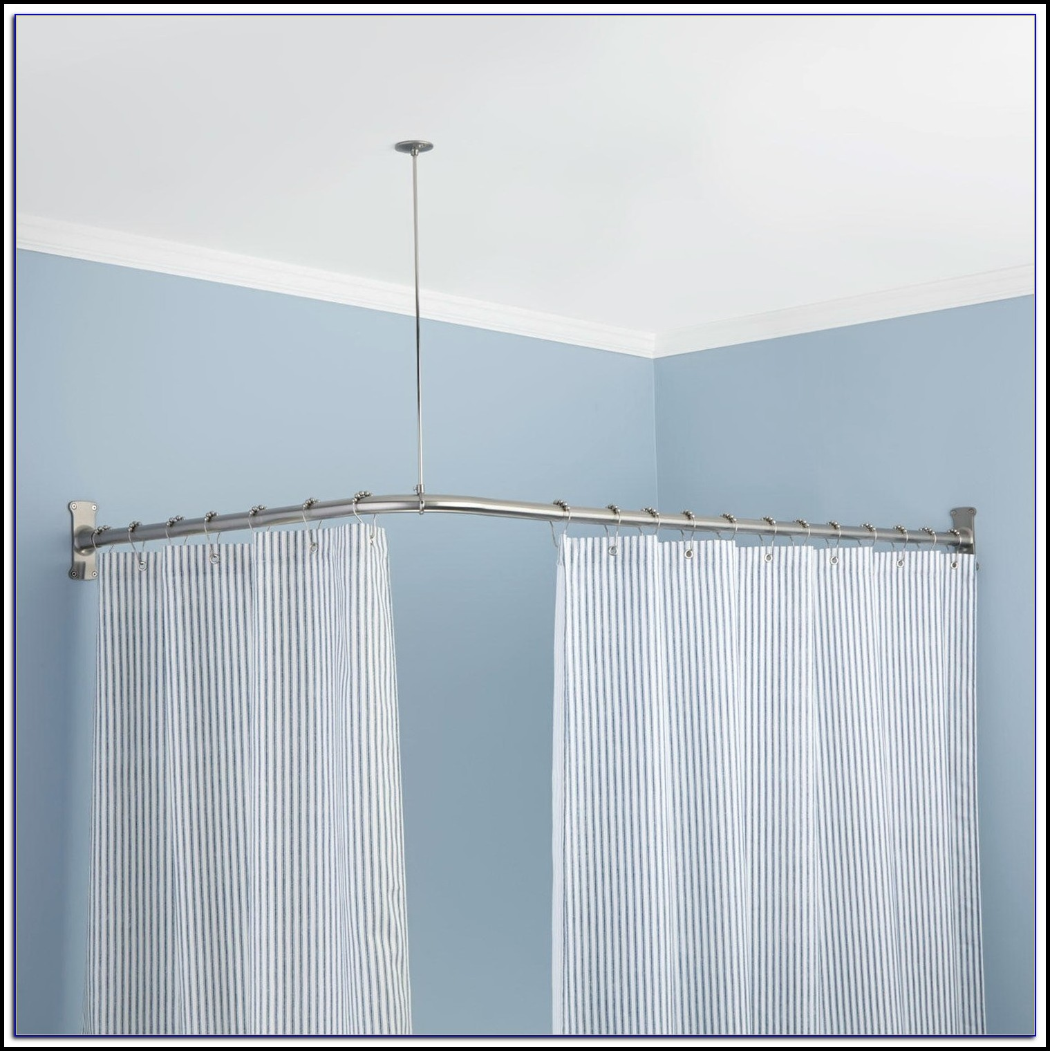 L Shaped Curtain Rod India