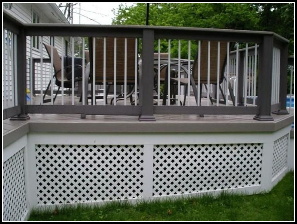 Lattice Deck Skirting Ideas