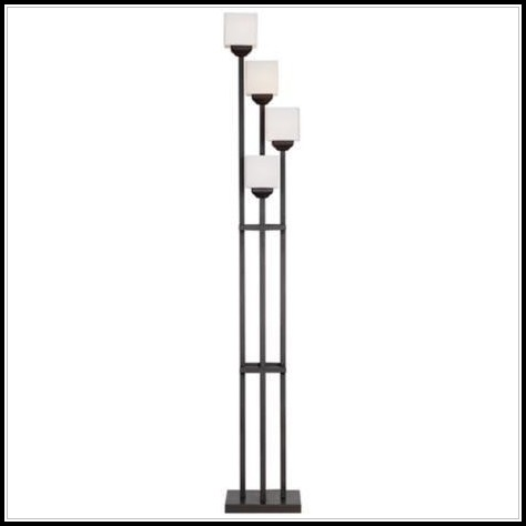 Light Bronze Torchiere Floor Lamp