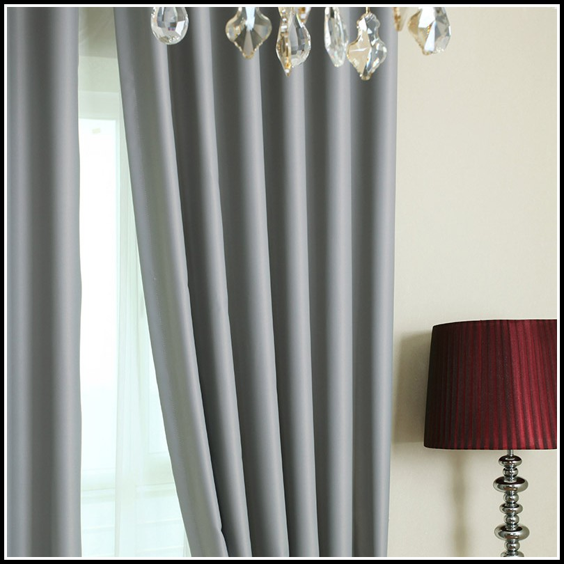 Light Grey Blackout Curtains