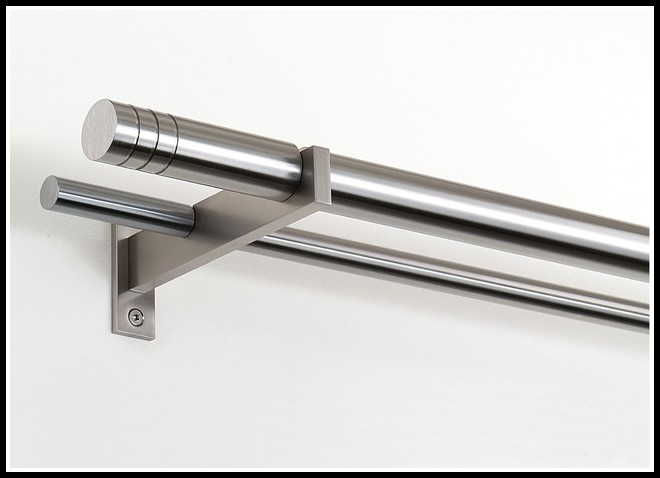 Modern Double Curtain Rods