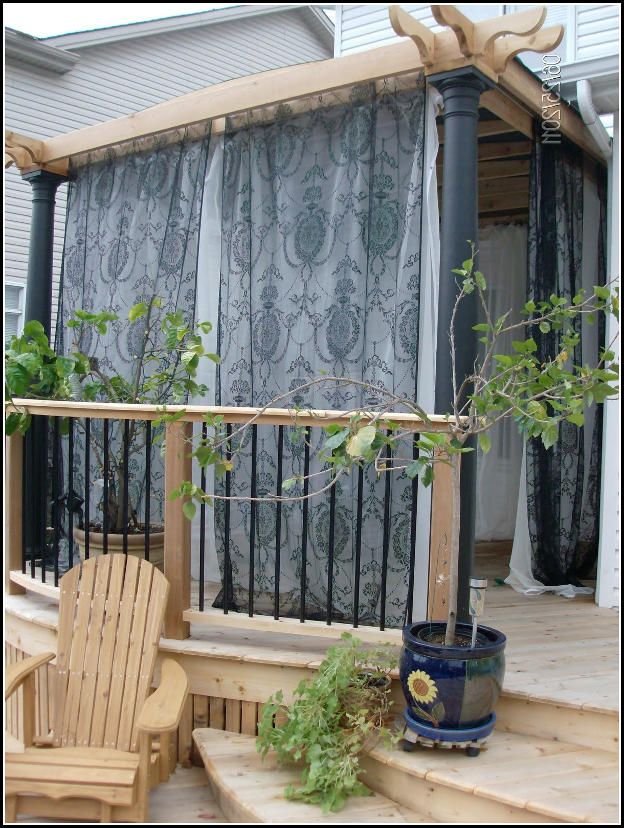 Mosquito Netting Curtains For Patio