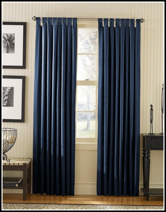 Navy Blackout Curtains Uk