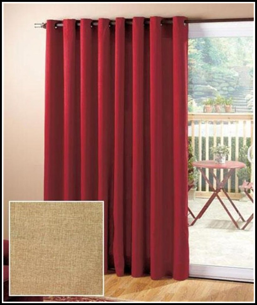 Patio Door Curtains Grommet Top