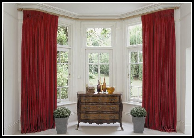 Pinch Pleat Curtains For Bay Windows