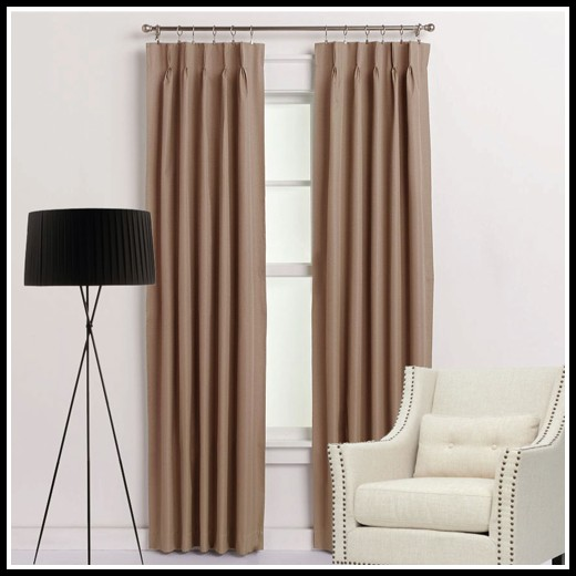 Pinch Pleat Curtains With Hooks
