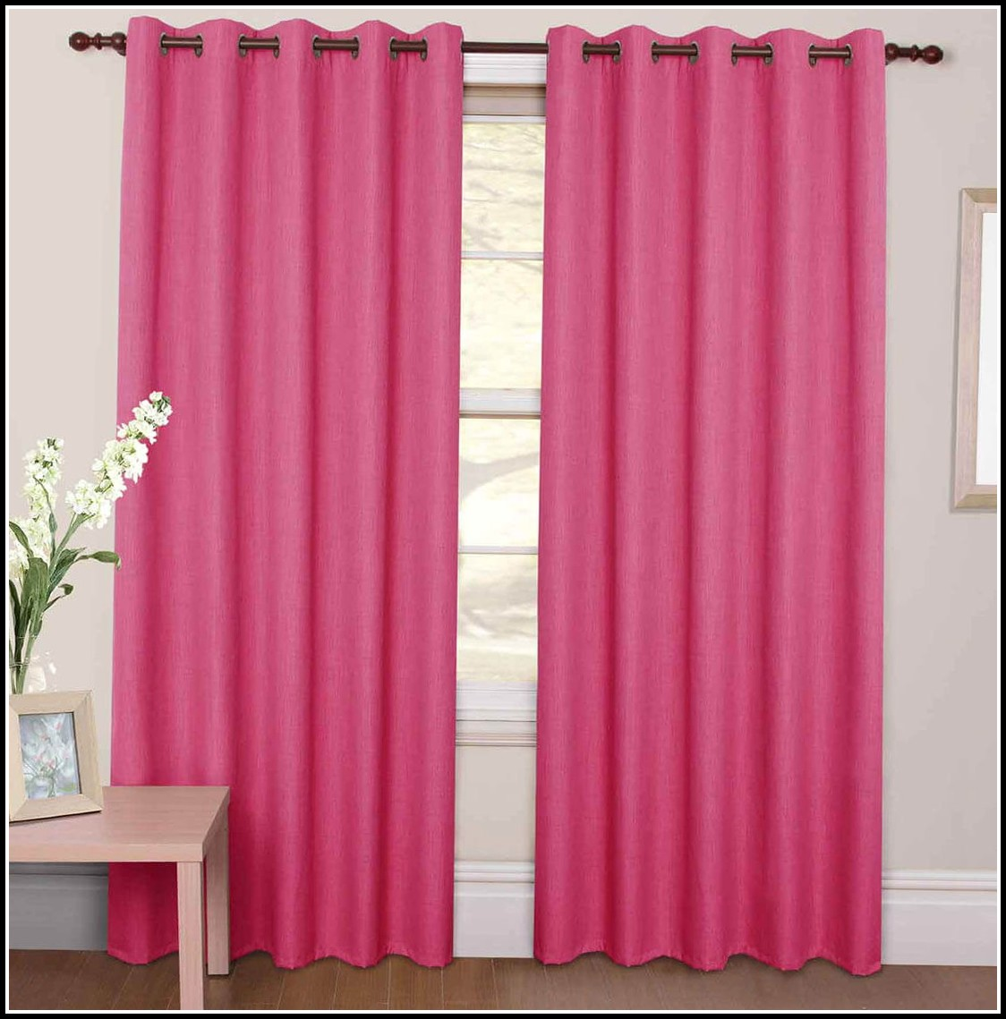 Pink Blackout Curtains Canada