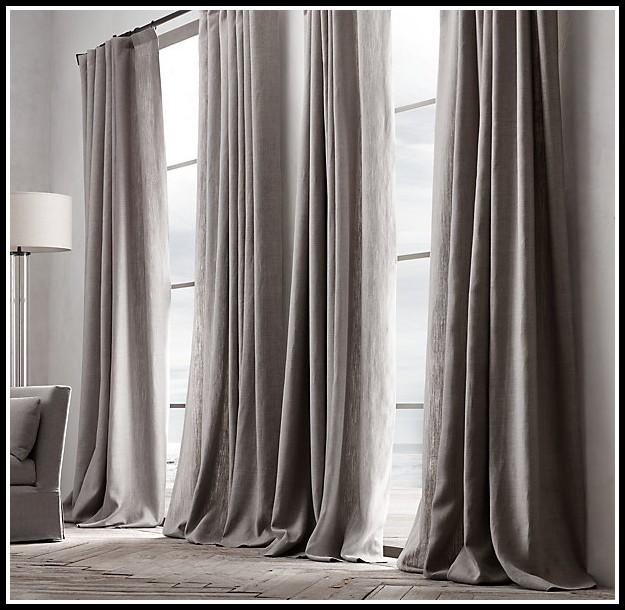 Restoration Hardware Linen Curtains