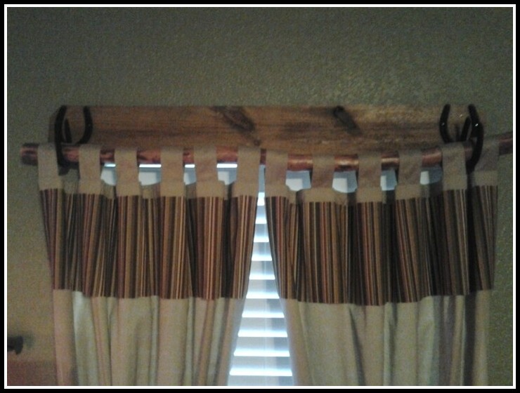Rustic Curtain Rods Ideas