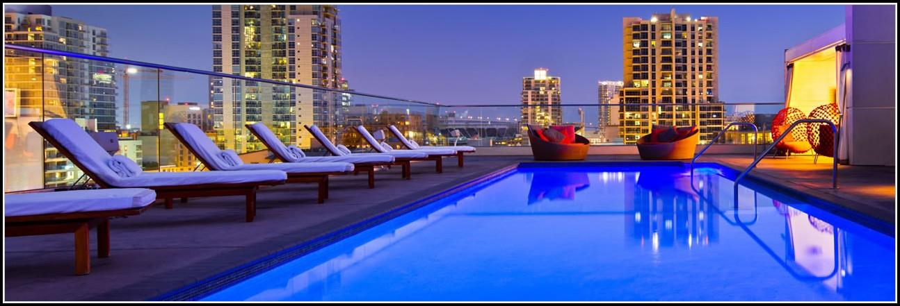 San Diego Gaslamp Hotels With Pool